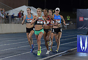 Jul 25, 2019; Des Moines, IA, USA;Emily Sisson places second in the women's 10,000m in 32:02.19  during the USATF Championships at Drake Stadium.