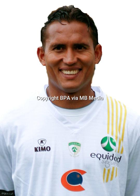 Colombia League - Postobom Liga 2014-2015 - <br /> Club Deportivo La Equidad - Colombia / <br /> Henry Hernandez