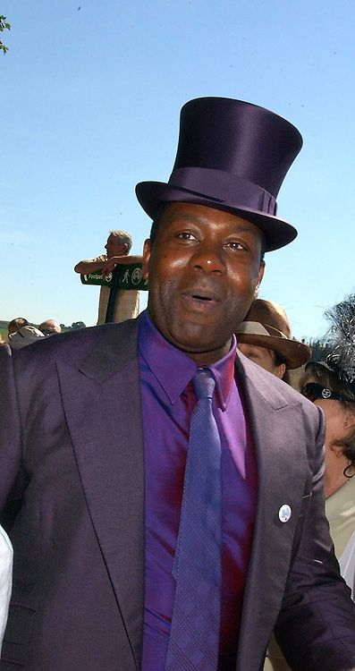 LENNY HENRY at the wedding of musician Jools Holland to Lady Crystabel Durham held at Cooling Village Church, Cooling, Kent on 30th August 2005.<br /><br />NON EXCLUSIVE - WORLD RIGHTS