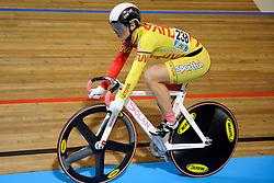 26-03-2011 WIELRENNEN: UCI TRACK CYCLING WORLD CHAMPIONSHIPS 2011: APELDOORN<br /> Simona Krupeckaite LTU<br /> ©2011 Ronald Hoogendoorn Photography