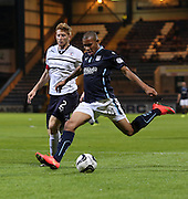 Summer signing Phil Roberts made his competitive debut for Dundee - Dundee v Raith Rovers, Scottish League Cup at Dens Park<br /> <br />  - &copy; David Young - www.davidyoungphoto.co.uk - email: davidyoungphoto@gmail.com