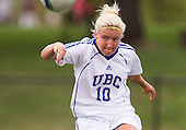 2011 UBC Soccer Women Vs U of Regina