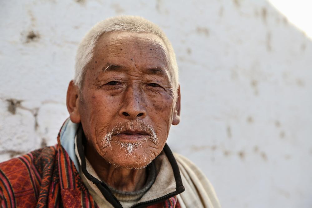 Bhutan portrait.