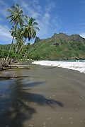 Beach, Puamua, Hiva Oa, Marquesas, French Polynesia<br />
