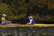 Boston, Massachusetts,  Championships women's fours, University of Victoria,  competing in the  Forty Second, [42nd] Head of the Charles, 22/10/2006.  Photo  Peter Spurrier/Intersport Images...[Mandatory Credit, Peter Spurier/ Intersport Images] Rowing Course; Charles River. Boston. USA