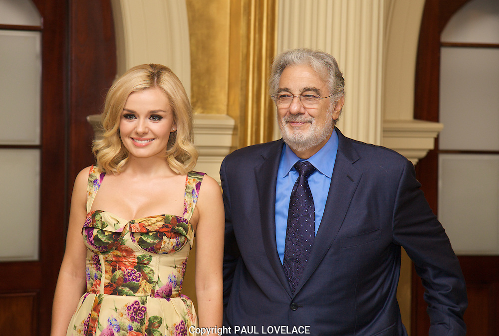 Placido Domingo & Katherine Jenkins Sydney Press Conference. To celebrate his first Australian tour in over 15 years, internationally acclaimed tenor Placido Domingo will be hosting a press conference alongside Welsh mezzo-soprano Katherine Jenkins.