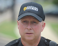 Oxford police chief Mike Martin comments on a robbery of the Mississippi Federal Credit Union on West Jackson Avenue in Oxford, Miss. on Wednesday, June 30, 2010.