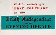 All Ireland Senior Hurling Championship Final,.03.09.1961, 09.03.1961, 3rd September 1961,.Minor Tipperary v Kilkenny, .Senior Dublin v Tipperary, Tipperary 0-16 Dublin 1-12,..GAA Irish Independent, Evening Herald,