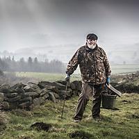 14/02/17 Calderdale , Yorkshire - Albert Morton , Professional Molecatcher -Calderdale , West Yorkshire
