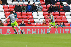 March 16, 2019 - Sunderland, Tyne and Wear, United Kingdom - Walsall's Josh Gordon celebrates scoring his side's first goal during the Sky Bet League 1 match between Sunderland and Walsall at the Stadium Of Light, Sunderland on Saturday 16th March 2019. (Credit: Steven Hadlow | MI News) (Credit Image: © Mi News/NurPhoto via ZUMA Press)