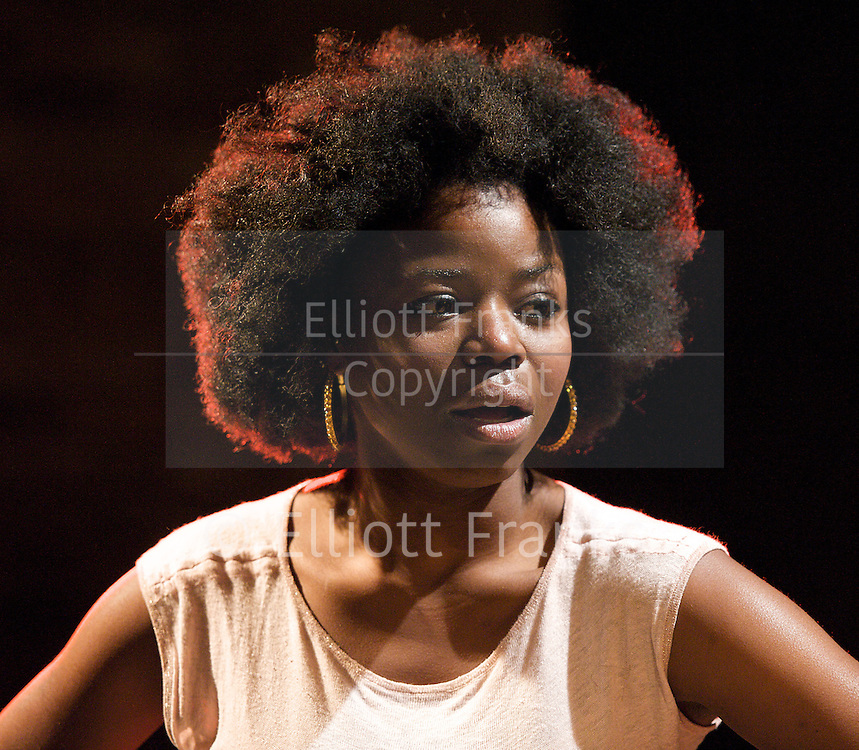 but i cd only whisper<br /> by Kristiana Colon<br /> directed by by Nadia Latif<br /> at The Arcola Theatre, London, Great Britain <br /> press photocall<br /> 1st November 2012 <br /> <br /> Sian Breckin <br /> Emmanuella Cole<br /> Adetomiwa Edun<br /> Cornell S John <br /> Tunji Kasim<br /> Paul McEwan <br /> <br /> <br /> Photograph by Elliott Franks