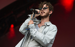 Oscar & The Wolf performs on stage on day 1 of All Points East festival in Victoria Park in London, UK. Picture date: Friday 25 May 2018. Photo credit: Katja Ogrin/ EMPICS Entertainment.