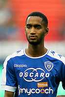 Jerson Cabral of Bastia during the French Ligue 1 match between SM Caen an Bastia at Stade Michel D'Ornano on August 27, 2016 in Caen, France. (Photo by Vincent Michel/Icon Sport)