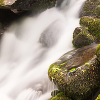 Roaring Fork water cascade, Great Smoky Mountain National Park, TN