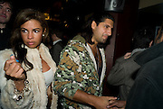 Party after the Premiere of 'Clubbed', at Sugar Reef. SohoLondon. 7 January 2009 *** Local Caption *** -DO NOT ARCHIVE-© Copyright Photograph by Dafydd Jones. 248 Clapham Rd. London SW9 0PZ. Tel 0207 820 0771. www.dafjones.com.<br /> Party after the Premiere of 'Clubbed', at Sugar Reef. SohoLondon. 7 January 2009
