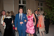 ROD BARKER; TANIA BRYER, The Cartier Chelsea Flower show dinner. Hurlingham club, London. 20 May 2013.