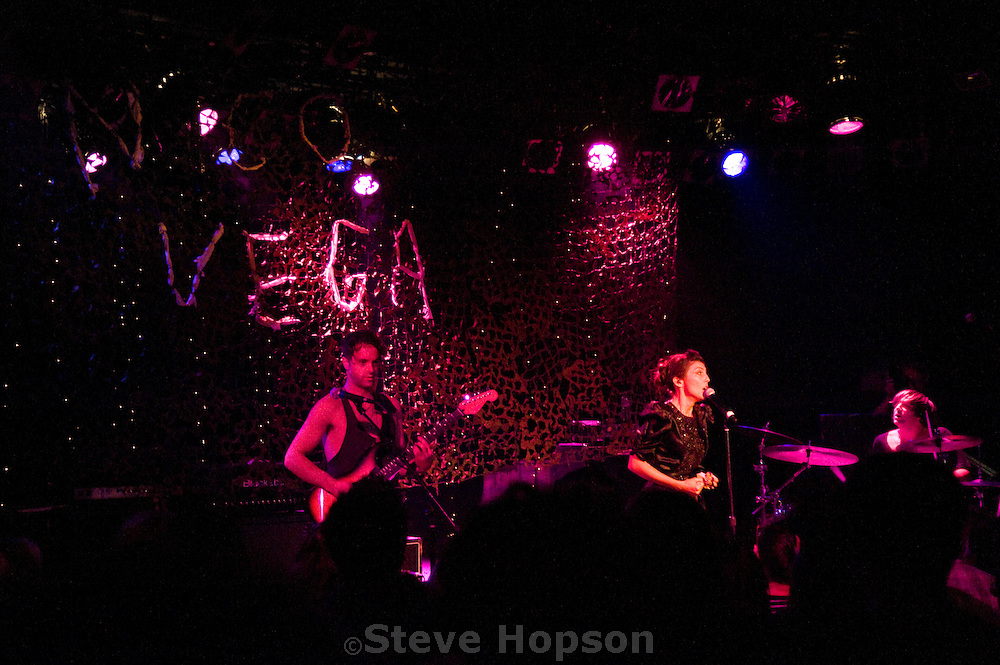 Nico Vega performing at the Roxie during the Sunset Strip Music Festival in Los Angeles, California, August 18, 2011.