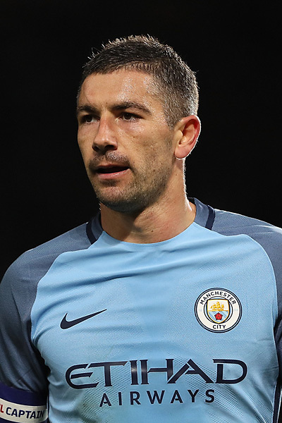 MANCHESTER, ENGLAND - AUGUST 13:  Aleksandar Kolarov of Manchester City during the Premier League match between Manchester City and Sunderland at the Etihad Stadium on August 13, 2016 in Manchester, England.  (Photo by Michael Steele/Getty Images)