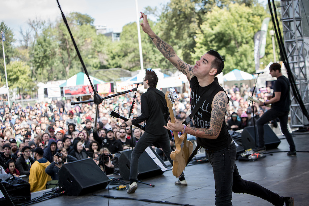 Anti Flag at Riot Fest 2014
