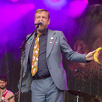 BMX Bandits in concert at the Palace, Linlithgow Palace, Linlithgow, Scotland 13th August 2017