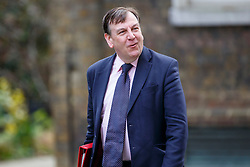 © Licensed to London News Pictures. 19/04/2016. London, UK. Culture and Media Secretary JOHN WHITTINGDALE attending a cabinet meeting in Downing Street on Tuesday, 19 April 2016. Photo credit: Tolga Akmen/LNP