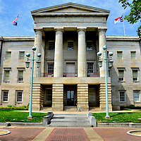 North Carolina State Capitol Building in Raleigh, North Carolina<br />