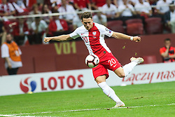 June 10, 2019 - Warsaw, Poland - Piotr Zielinski of Poland during the UEFA Euro 2020 qualifier Group G football match Poland against Israel on June 10, 2019 in Warsaw, Poland. (Credit Image: © Foto Olimpik/NurPhoto via ZUMA Press)