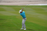 Calum Hill (SCO) on the 9th during Round 1 of the Oman Open 2020 at the Al Mouj Golf Club, Muscat, Oman . 27/02/2020<br /> Picture: Golffile | Thos Caffrey<br /> <br /> <br /> All photo usage must carry mandatory copyright credit (© Golffile | Thos Caffrey)