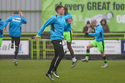Forest Green Rovers Charlie Cooper(20) during the Vanarama National League match between Forest Green Rovers and Dover Athletic at the New Lawn, Forest Green, United Kingdom on 17 December 2016. Photo by Shane Healey.