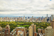 View of Central Park from 160 West 66th Street, 58th floor