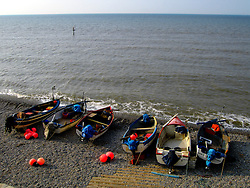 UK ENGLAND NORFOLK SHERINGHAM 7MAY06 - Fishing boats and accessoires on the beach at Sheringham, north Norfolk coast...jre/Photo by Jiri Rezac..© Jiri Rezac 2006..Contact: +44 (0) 7050 110 417.Mobile:  +44 (0) 7801 337 683.Office:  +44 (0) 20 8968 9635..Email:   jiri@jirirezac.com.Web:    www.jirirezac.com..© All images Jiri Rezac 2006 - All rights reserved.