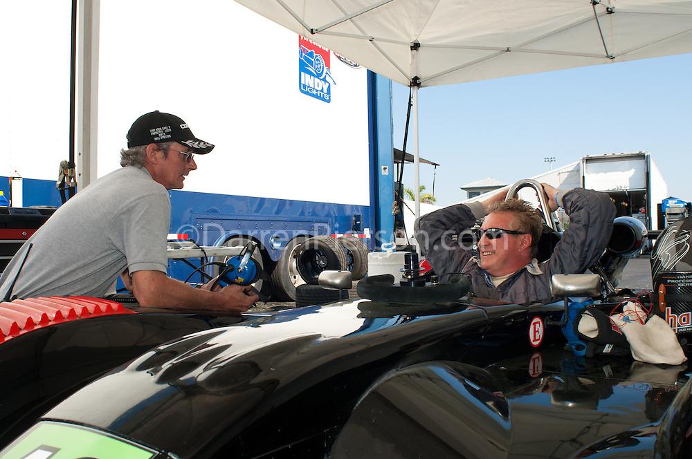 #42 Eurosport Racing Elan DP02: Jim Garrett