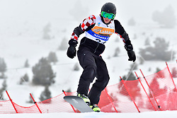 BOSNJAK Bruno, SB-LL1, CRO, Banked Slalom at the WPSB_2019 Para Snowboard World Cup, La Molina, Spain