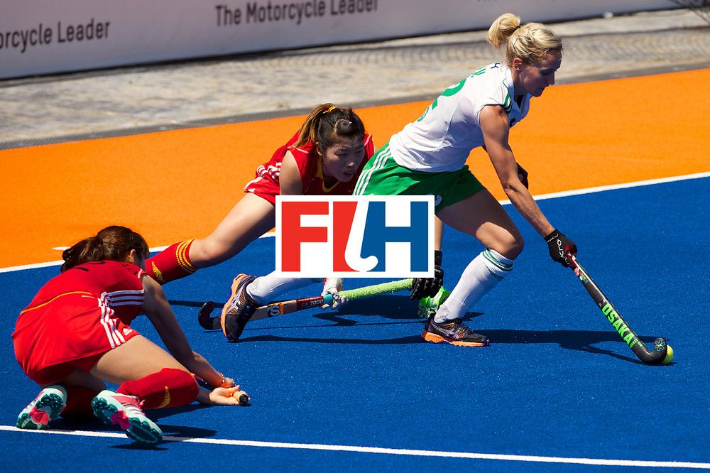 RIO 2016 Olympic qualification, Hockey, Women, quarterfinal, Ireland vs China : Nicola Daly