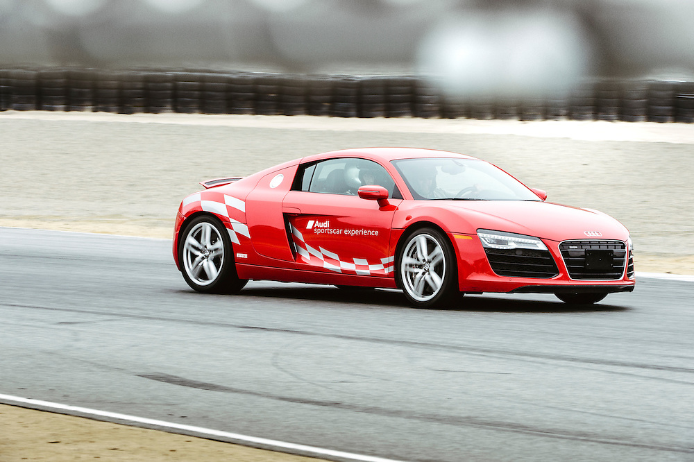 R8 in Turn 3 at Laguna Seca. Monterey, CA | Audi sportscar experience