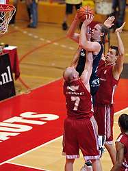 14-05-2005 BASKETBALL: FINALE PLAYOFF: DEMON ASTRONAUTS - LANDSTEDE ZWOLLE: AMSTERDAM<br /> <br /> Demon Astronauts heeft de eerste wedstrijd in de best-of-seven-serie tegen Landstede gewonnen met 84-73 / <br /> <br /> ©2005-WWW.FOTOHOOGENDOORN.NL