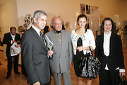STUART ROSE, MOHAMED AL FAYED, CAMILLA Al Fayed AND FRANCES CORNER ,  London College of Fashion catwalk show. Royal Academy of Arts, 6 Burlington Gardens. London. 31 May 2007. -DO NOT ARCHIVE-© Copyright Photograph by Dafydd Jones. 248 Clapham Rd. London SW9 0PZ. Tel 0207 820 0771. www.dafjones.com.