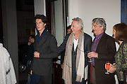 SERUEI DUTKO; JEAN-JACQUES DUTKO;; JEAN MICHEL-REY; BEATRICE CASADESUS, Launch of the Dutko Gallery  the first commercial space in London dedicated to Art Deco design. 18 Davies Street , Mayfair. London. 15 October 2015