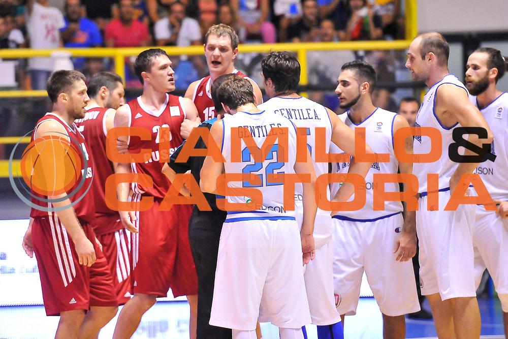 DESCRIZIONE : Cagliari Qualificazione Eurobasket 2015 Qualifying Round Eurobasket 2015 Italia Russia - Italy Russia<br /> GIOCATORE : Semen Antonov<br /> CATEGORIA : Rissa<br /> EVENTO : Cagliari Qualificazione Eurobasket 2015 Qualifying Round Eurobasket 2015 Italia Russia - Italy Russia<br /> GARA : Italia Russia - Italy Russia<br /> DATA : 24/08/2014<br /> SPORT : Pallacanestro<br /> AUTORE : Agenzia Ciamillo-Castoria/ Luigi Canu<br /> Galleria: Fip Nazionali 2014<br /> Fotonotizia: Cagliari Qualificazione Eurobasket 2015 Qualifying Round Eurobasket 2015 Italia Russia - Italy Russia<br /> Predefinita :