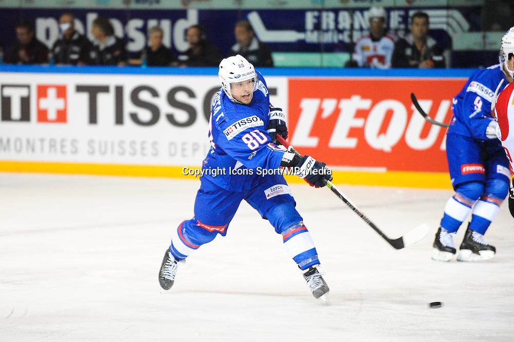 Teddy DA COSTA - 24.04.2015 - France / Suisse - Match Amical -Grenoble<br />Photo : Jean Paul Thomas / Icon Sport