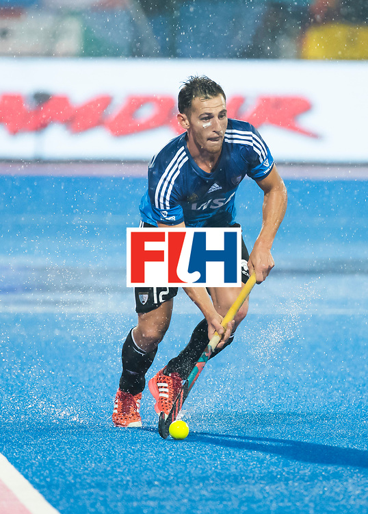 BHUBANESWAR -  Hockey World League finals , Semi Final . Argentina v India. Lucas Vila (Arg)  COPYRIGHT KOEN SUYK