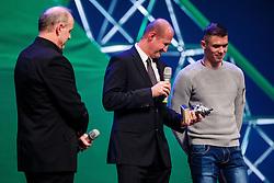 Nik Zupančič at Slovenian Sports personality of the year 2016 annual awards presented on the base of Slovenian sports reporters, on December 13, 2016 in Cankarjev dom, Ljubljana, Slovenia. Photo by Grega Valancic / Sportida