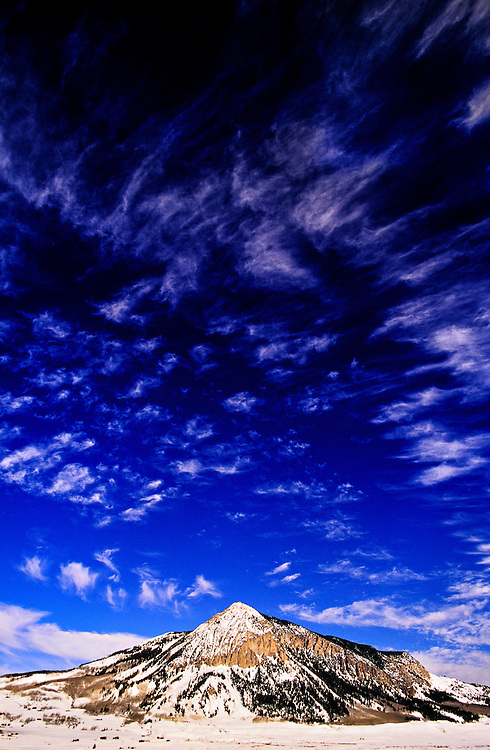 Mount Crested Butte, Crested Butte mountain resort, Colorado USA