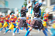 Hirosaki Yosakoi Festival.  Yosakoi started in the city of Kochi in 1954. The Yosakoi-style dancing has since spread throughout Japan. The Yosakoi  dance is highly energetic, combining traditional Japanese dance movements with modern music. The choreographed dances are usually performed by large teams.