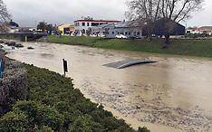 Blenheim-Taylor River floods in central Blenheim