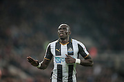 Mohamed Diamé (Newcastle United) during the EFL Cup 4th round match between Newcastle United and Preston North End at St. James's Park, Newcastle, England on 25 October 2016. Photo by Mark P Doherty.