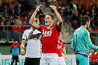 ALKMAAR - 27-08-15, Europa League,  2e voorronde,  AZ  - Astra GiurGiu, AFAS Stadion, AZ speler Markus Henriksen (m).