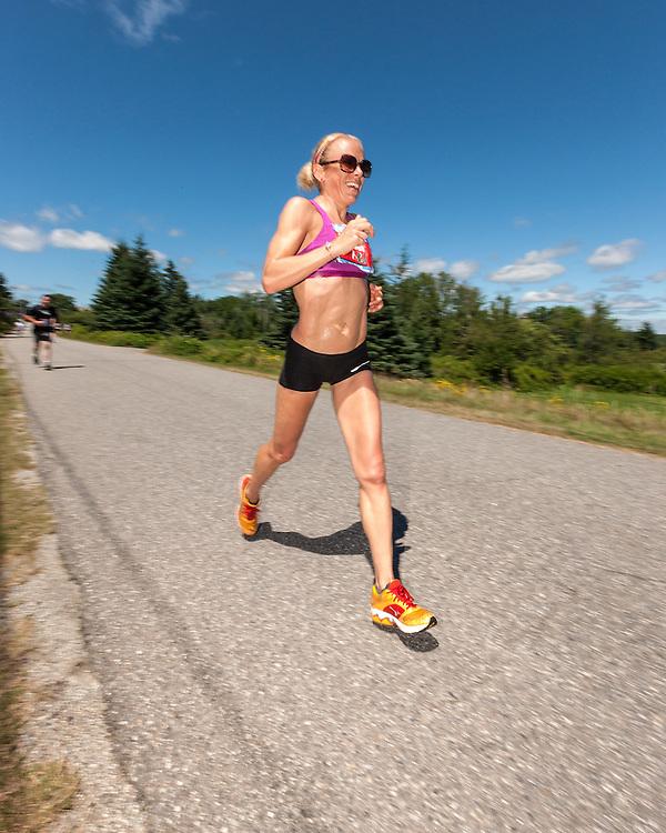 Great Cranberry Island Ultra 50K road race: Leah Thorvilson