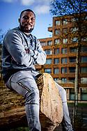 ROTTERDAM - portret van Oud-voetballer Royston Drenthe, die vrijdag een biografie in eigen beheer uitbrengt, zegt dat alleen 'de kern van zijn leven' in het boek staat. copyrught robin utrecht