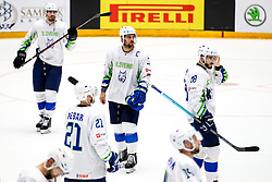 Disappointment of Slovenia players during ice hockey match between Belarus and Slovenia at IIHF World Championship DIV. I Group A Kazakhstan 2019, on May 2, 2019 in Barys Arena, Nur-Sultan, Kazakhstan. Photo by Matic Klansek Velej / Sportida